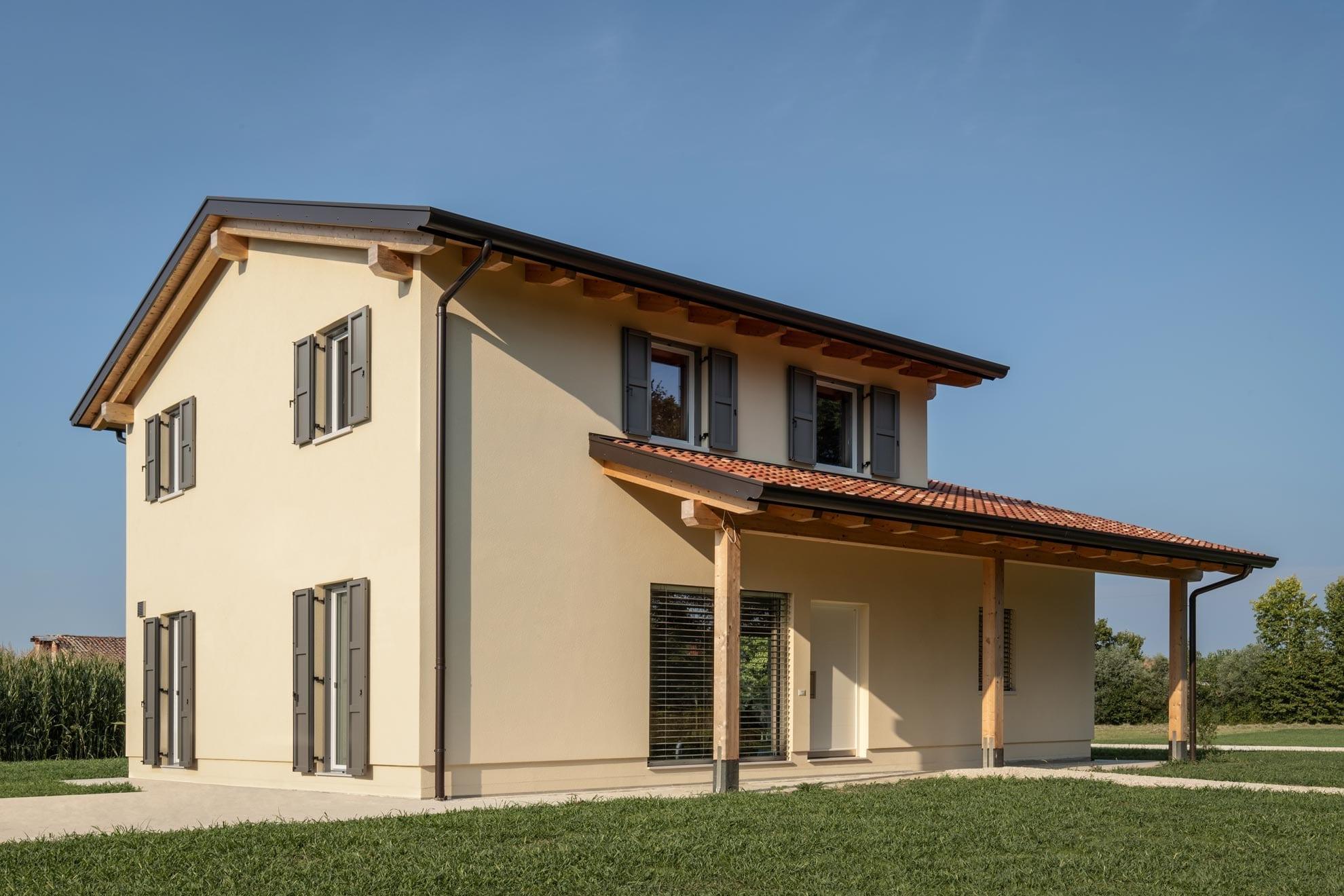 Un ampliamento staccato grazie al piano casa haume case in legno - Ampliamento casa in legno ...
